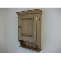 pine bathroom cabinet w47cm