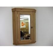 corner bathroom cabinet with mirrored door w51cm 211