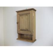 pine wall corner unit w49cm