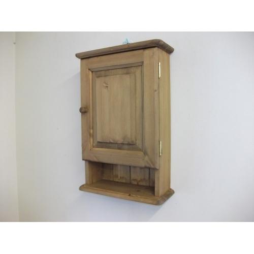 pine bathroom cabinet w37cm