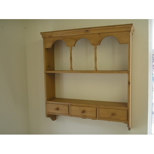 Wall rack with spice drawers. W92cm.